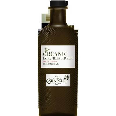 Olive Oil: Carapelli Organic First Cold Press Extra Virgin Olive Oil