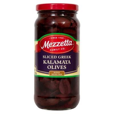 Mezzetta Sliced Greek Kalamata Olives - 9.5oz