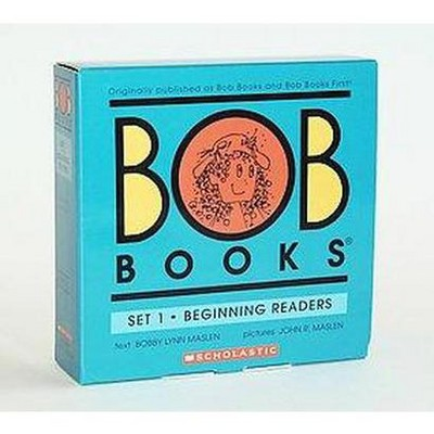 Bob Books Set 1: Beginning Readers - by John Maslen (Paperback)