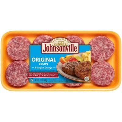 Johnsonville Original Recipe Breakfast Sausage Patties - 12oz