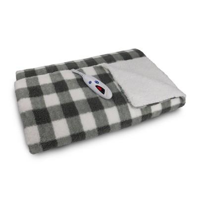 Sherpa Electric Throw Blanket - Biddeford Blankets