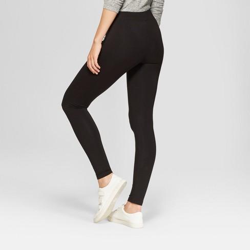 54bbca4da34052 Women's Leggings - A New Day™ Black XXS : Target