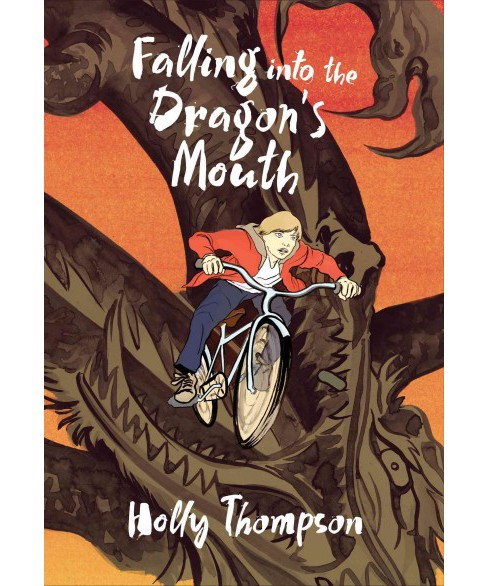 Falling into the Dragon's Mouth -  Reprint by Holly Thompson (Paperback) - image 1 of 1