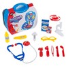 Doctor Kit for Kids - 15 Piece Complete Pretend Play Doctor Toy Set Including Carrying Case for Toddlers Boys and Girls by Hey! Play! - image 3 of 4