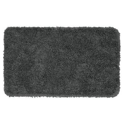 Garland Serendipity Shaggy Washable Nylon Bath Rug - Dark Gray (30 x50 )