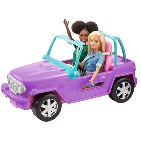 Barbie Purple Jeep Vehicle - image 1 of 4