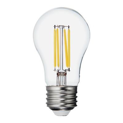General Electric 2pk 60W Refresh A15 CF Clear LED Light Bulb White