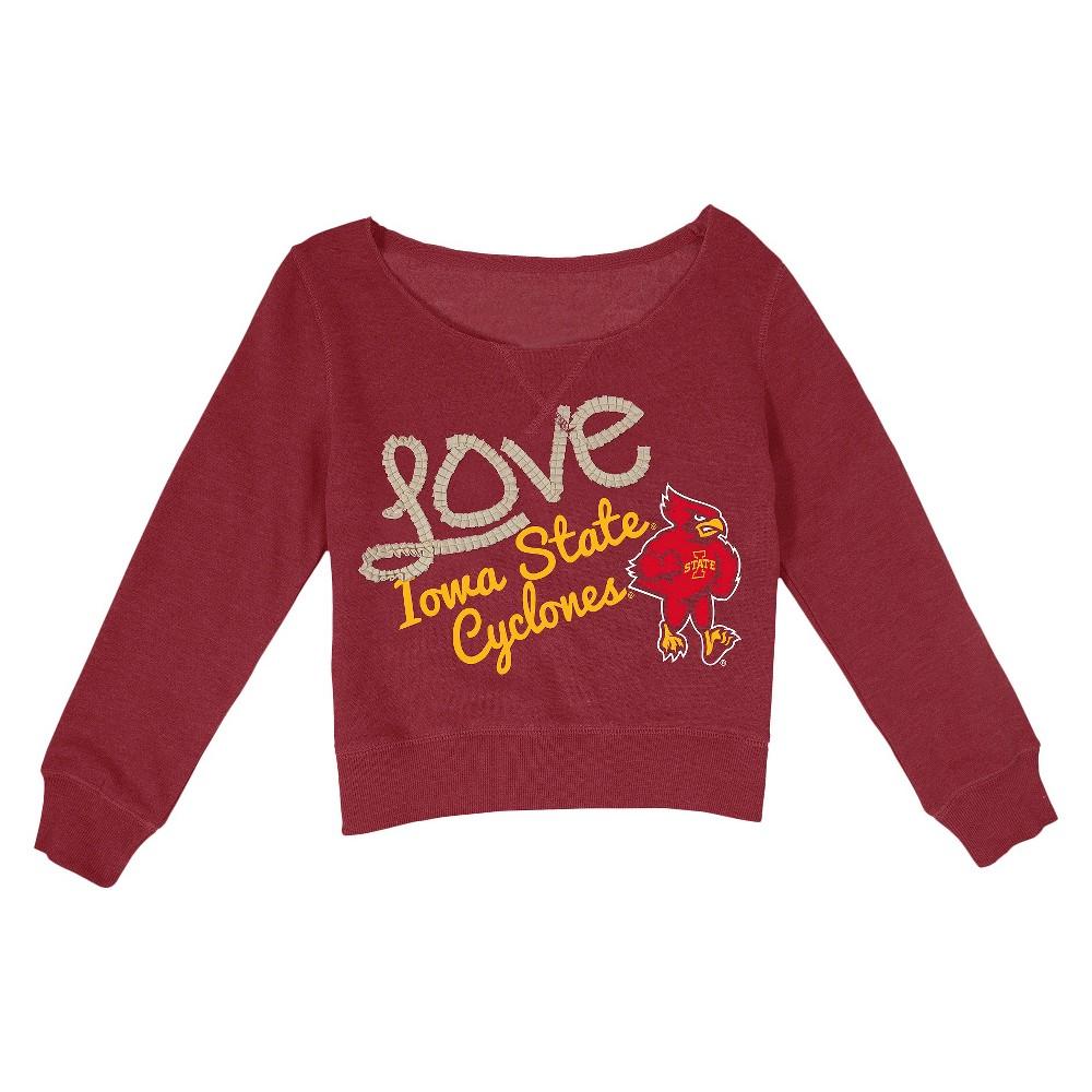 NCAAIowa State Cyclones Girls' Sweatshirt - Red XL