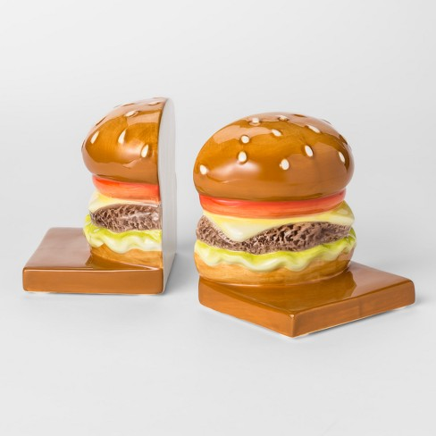 Decorative Bookend - Cheeseburger - Room Essentials™ - image 1 of 2
