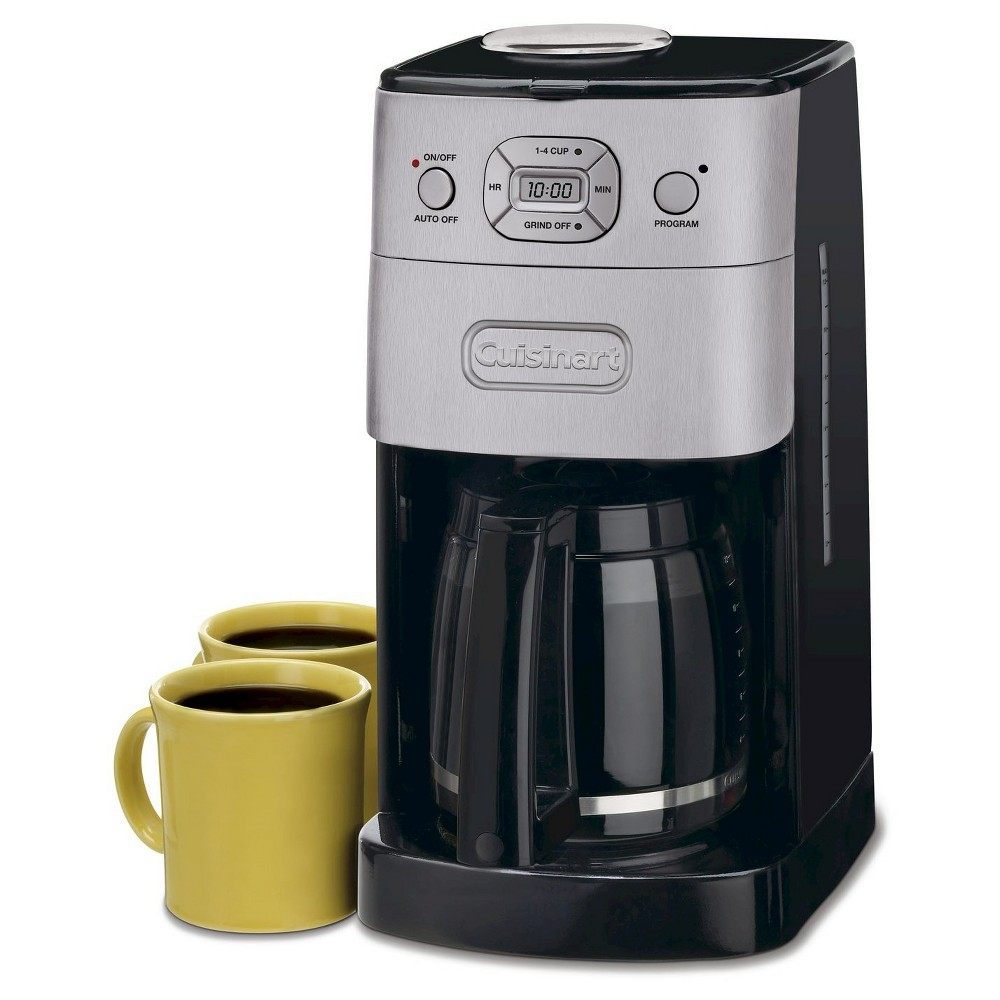 Cuisinart Grind & Brew 12 Cup Automatic Coffee Maker – Brushed Chrome Dgb-625BC 21401593