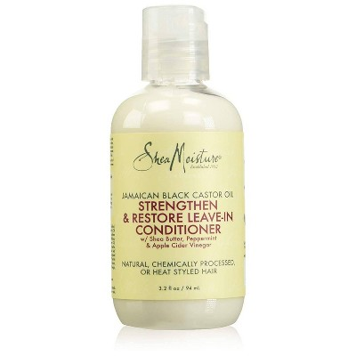 SheaMoisture Jamaican Black Castor Oil Strengthen & Growth Leave-In Conditioner - 3.2 fl oz