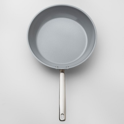 Ceramic Coated Stainless Steel Skillet 10  - Made By Design™