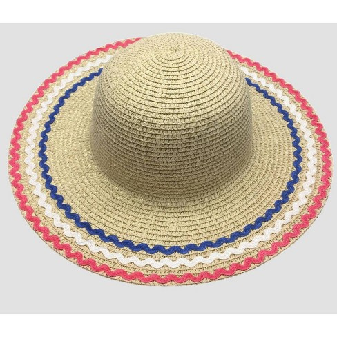 Girls' Hat - Cat & Jack™ Natural One Size - image 1 of 1