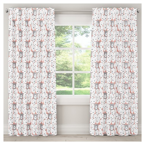 Bears Sketch Blackout Curtain Panel - Skyline Furniture® - image 1 of 4