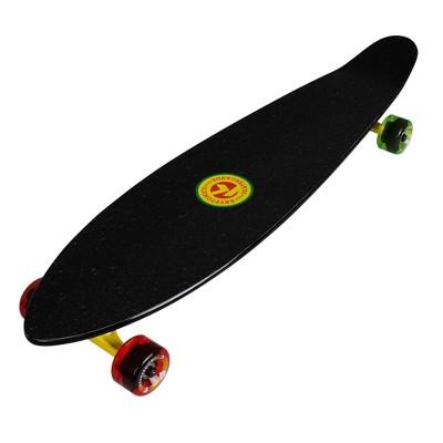 "Kryptonics 36"" Rasta Palm Long Board - Red/Yellow/Black"