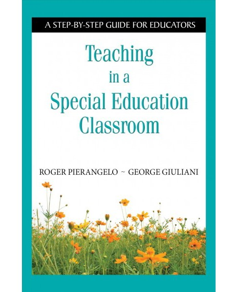 Teaching in a Special Education Classroom : A Step-by-step Guide for Educators -  Reprint (Paperback) - image 1 of 1