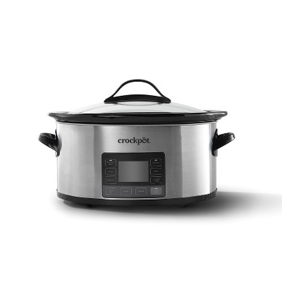 Crock Pot 6qt My Time Slow Cooker - Silver