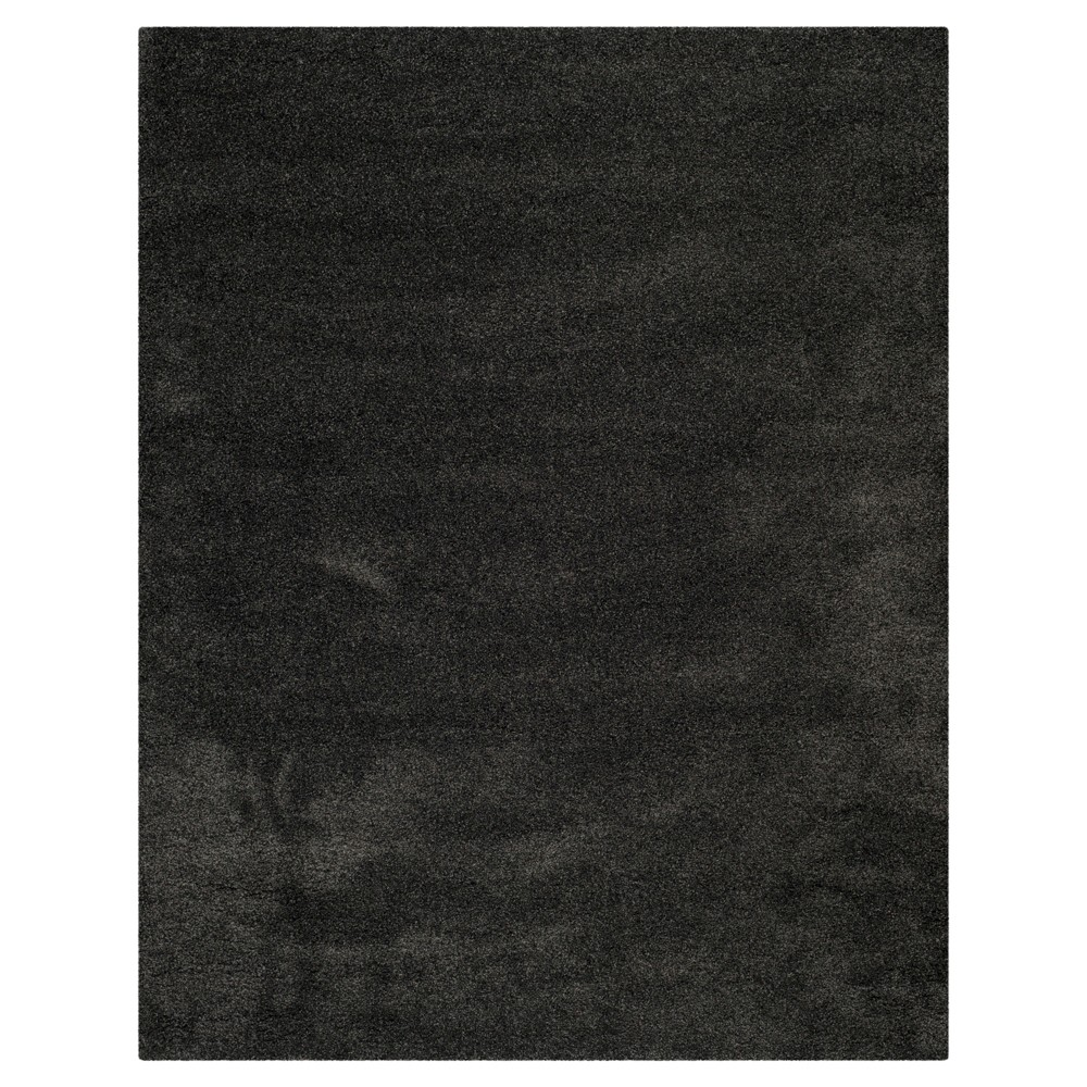 Dark Gray Solid Shag/Flokati Loomed Area Rug - (6'X9') - Safavieh