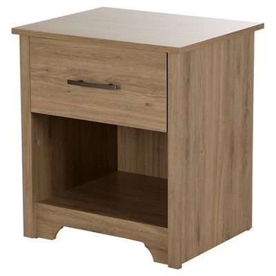 Fusion Nightstand - Rustic Oak - South Shore