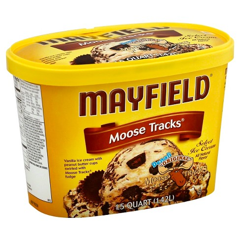 Mayfield Moose Tracks Ice Cream - 1.5qt - image 1 of 1