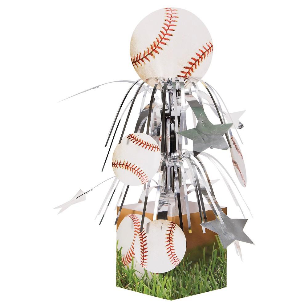 Check price Sports Fanatic Baseball Centerpiece each