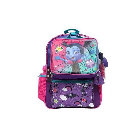 "Disney 16"" Kids' Vampirina Backpack - 7pc Set - image 1 of 10"