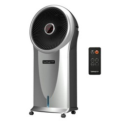 NewAir Luma 250 Sq Ft 3 Speed Portable Evaporative Cooler with Remote, Silver