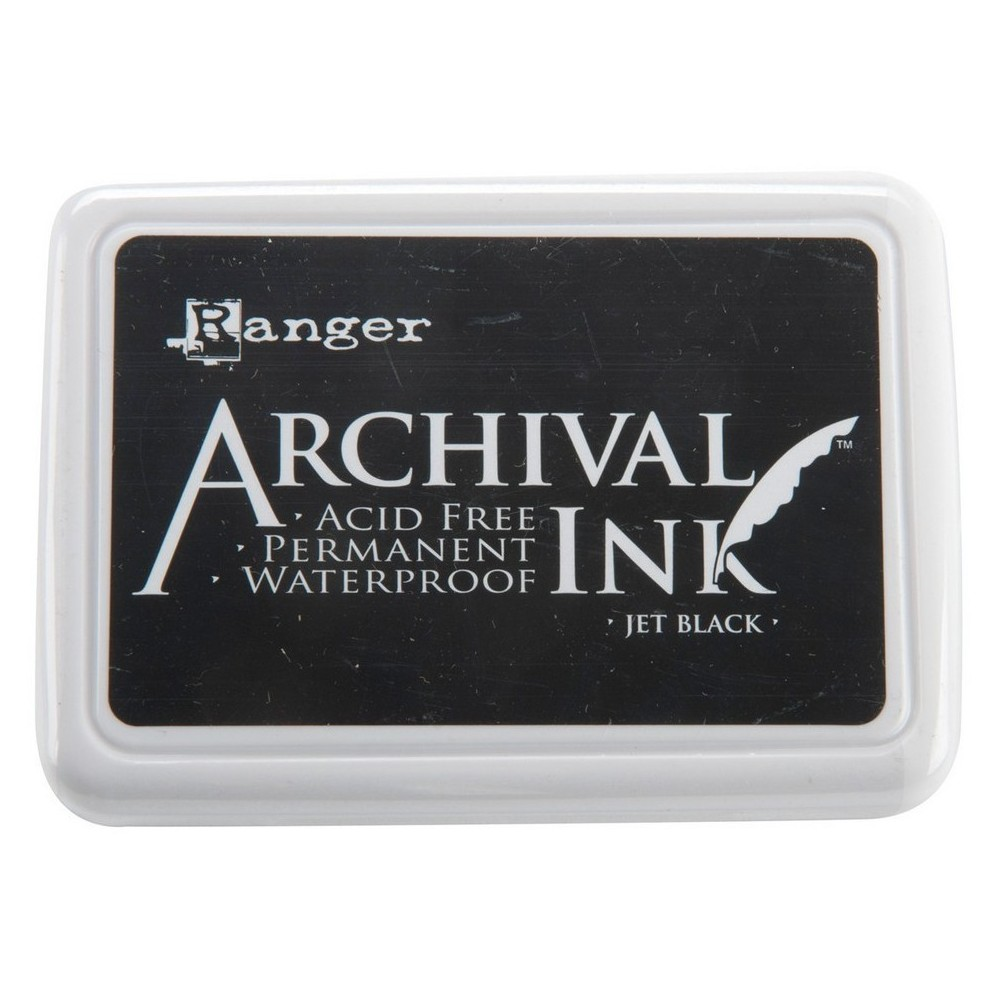 "Image of ""Archival Ink Pad #0-Jet Black 4""""x2.75"""""""