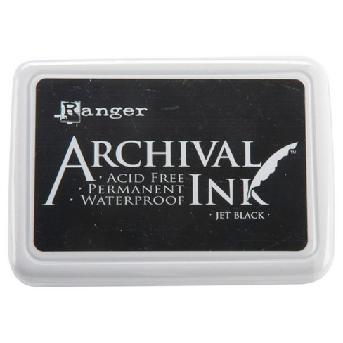 "Archival Ink Pad #0-Jet Black 4""x2.75"" - image 1 of 1"