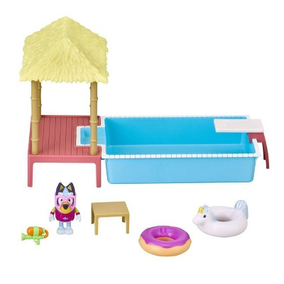 Bluey Pool Time Playset