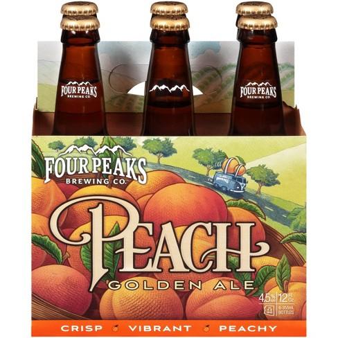 Four Peaks Peach Golden Ale Beer - 6pk/12 fl oz Bottles - image 1 of 1