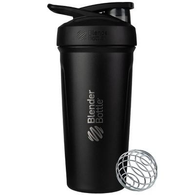 BlenderBottle 24oz Strada Stainless Steel Water Bottle - Black