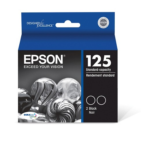 Epson 125 Single & 4pk Ink Cartridges - Black, Multicolor - image 1 of 2