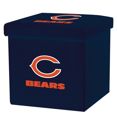 NFL Franklin Sports Chicago Bears Storage Ottoman with Detachable Lid - image 1 of 6
