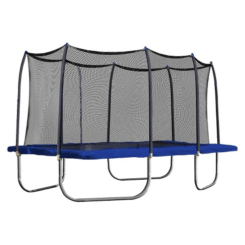 Skywalker Trampolines 15' Rectangle Trampoline with Enclosure - Blue - image 1 of 4