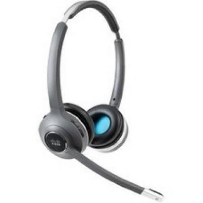 Cisco 562 Headset - Stereo - Wireless - DECT 6.0 - 300 ft48 kHz - Over-the-head - Binaural - Supra-aural