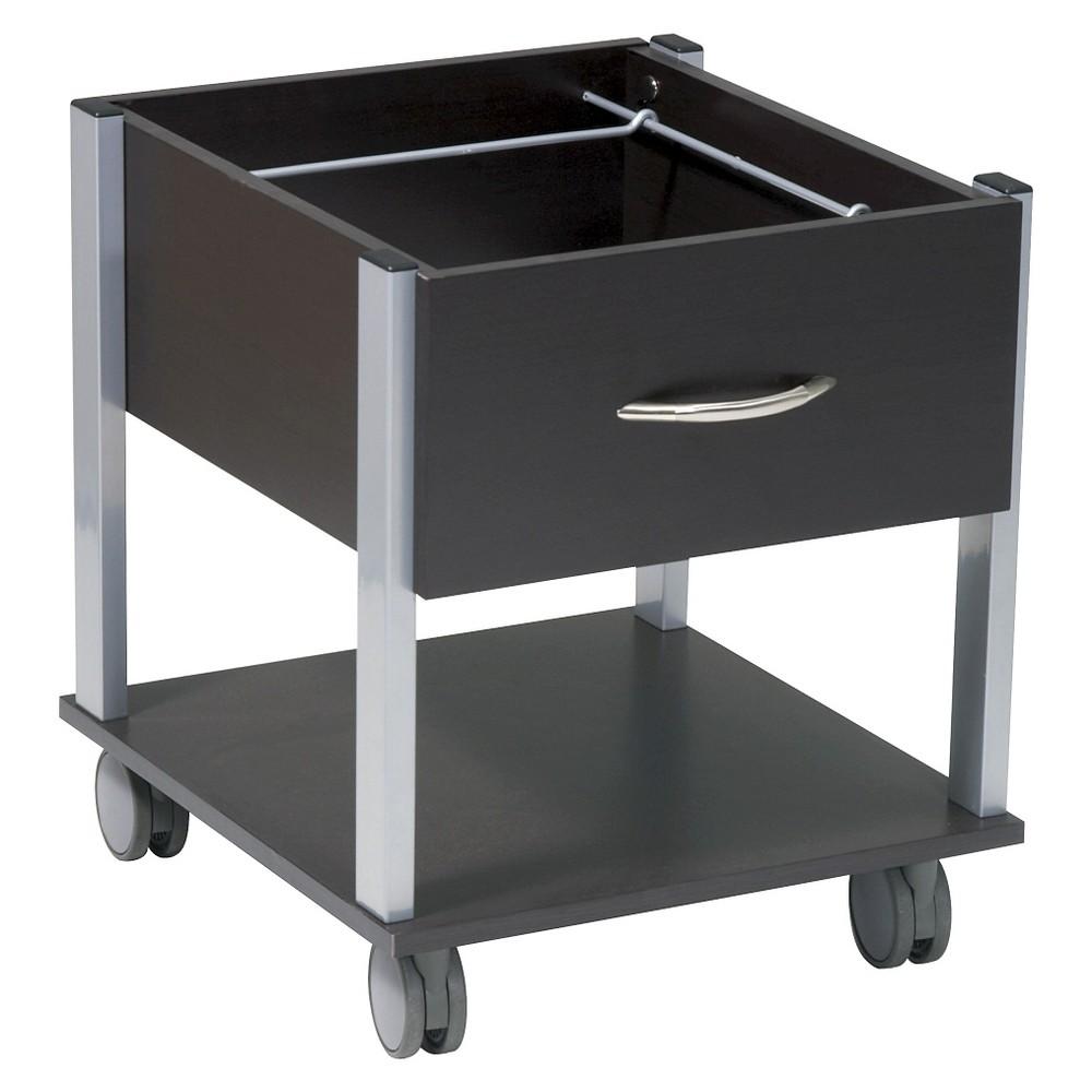 Image of File Cabinet - Office Star, Black