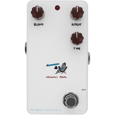 Animals Pedal Relaxing Walrus Delay V2 Effects Pedal White