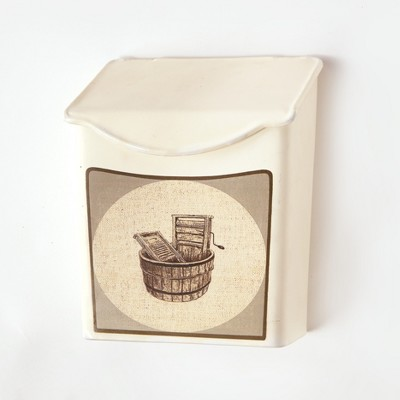 Lakeside Vintage Style Lint and Pod Holder - Laundry Room Decor