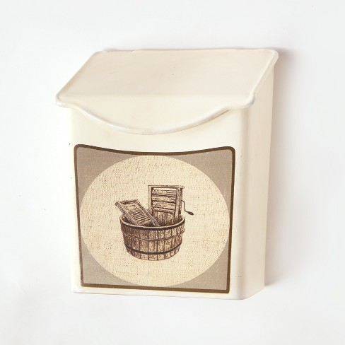 Lakeside Vintage Style Lint and Pod Holder - Laundry Room Decor - image 1 of 2
