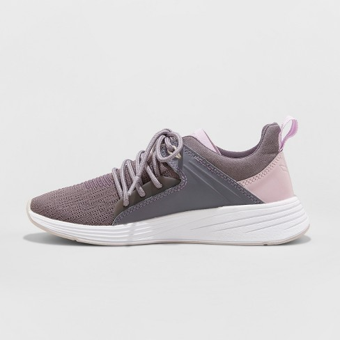 63f596a94b730 Women s Exalt Knit Lace-up with Bracing Sneakers - C9 Champion® Purple