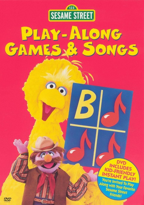 Sesame street:Play along games & song (DVD) - image 1 of 1