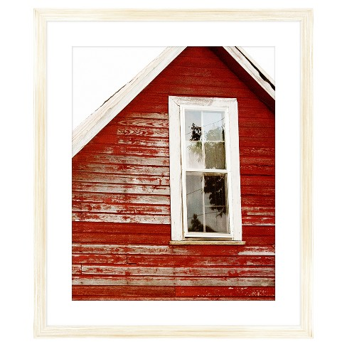 Glimpse of Red Barn 18X22 Wall Art - image 1 of 1