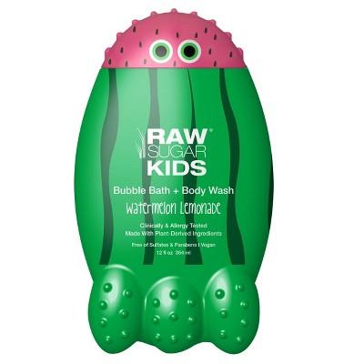 Raw Sugar Kids Bubble Bath + Body Wash Watermelon Lemonade - 12 fl oz