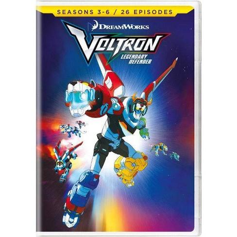Voltron: Legendary Defender Seasons 3 - 6 (DVD) - image 1 of 1