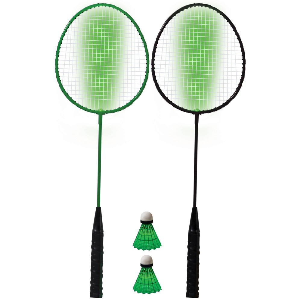Image of Franklin Sports 2 Player LED Badminton Racket Set