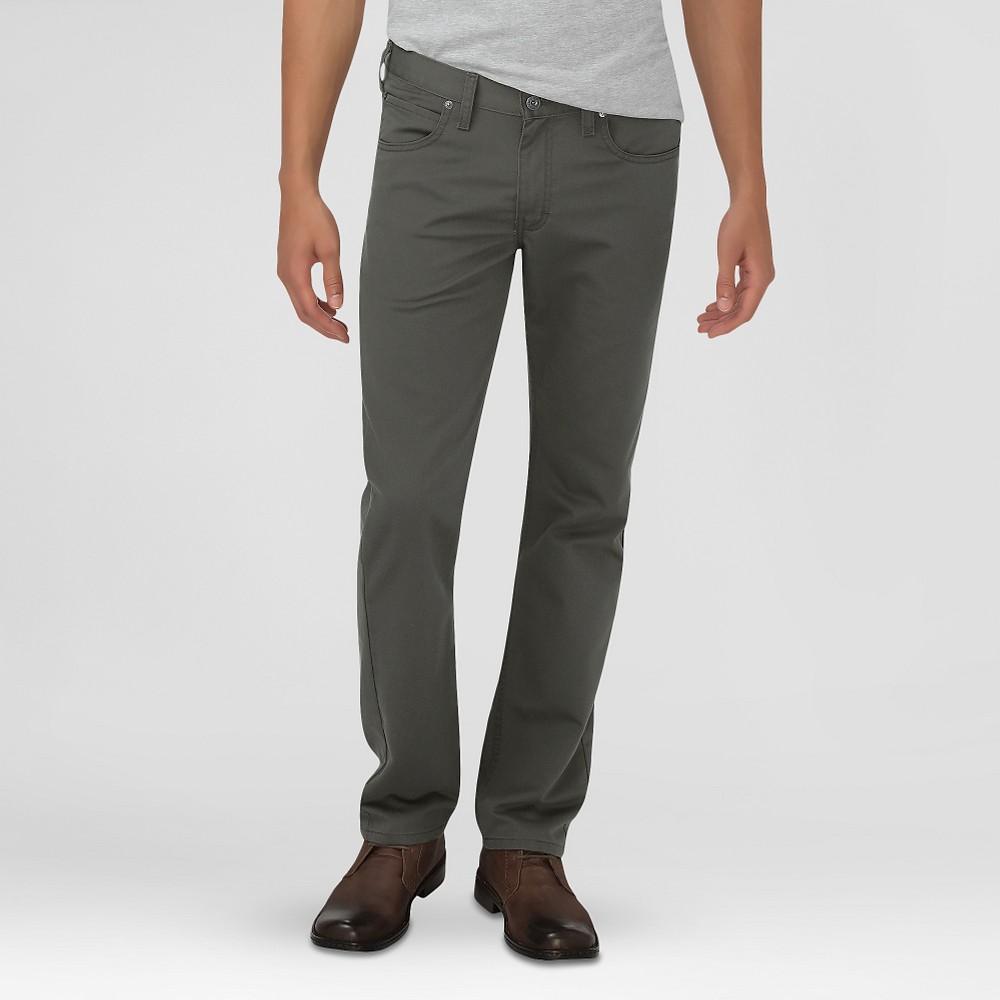 Dickies Men's Slim Fit 5-Pocket Pants Moss 32X32, Jungle Moss