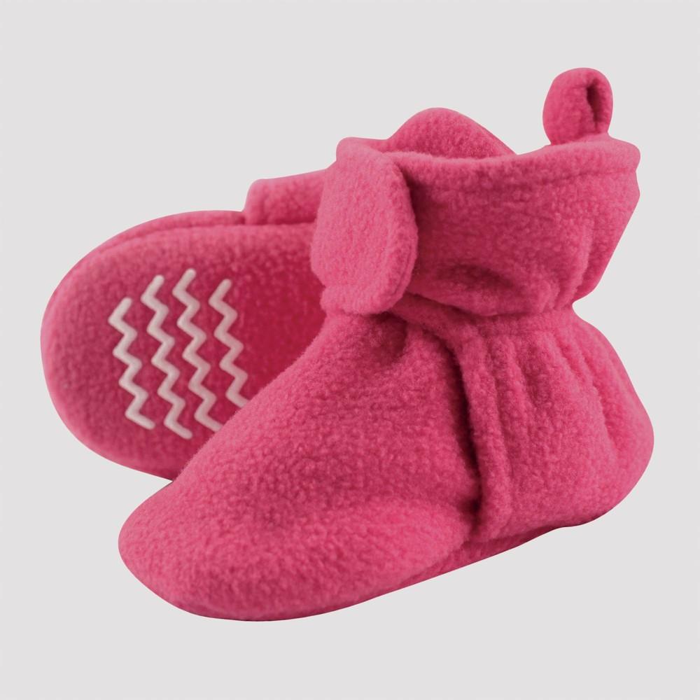 Image of Hudson Baby Toddler Fleece Lined Scooties - Dark Pink 3T, Girl's