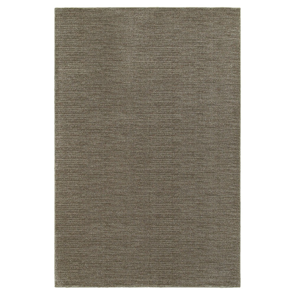Legacy Solid Brown Area Rug - Brown (8'X11')