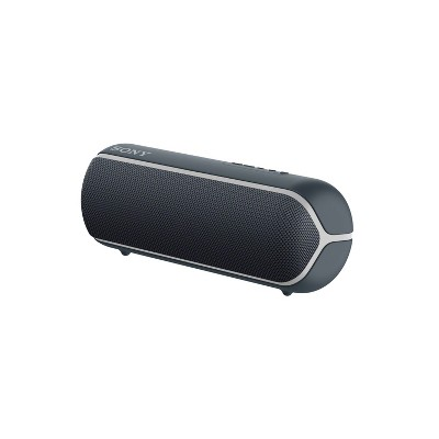 Sony XB22 Waterproof Wireless Bluetooth Speaker - Black (SRSXB22/B)
